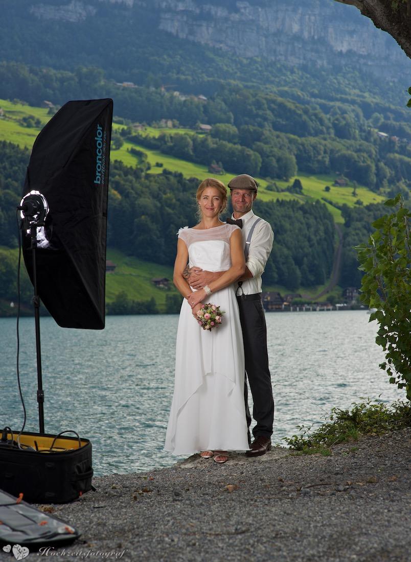 hochzeitsfoto making of